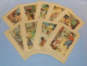 Nine AFTER THE RAIN Children Bathing Cards - Paper
