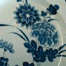 MEAKIN Flow Blue Dinnerware - 41 piece LIBERTY Cobalt Blue Pattern - Antique Ironstone Porcelain