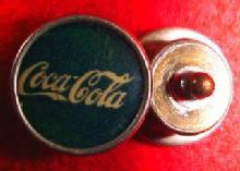Vintage Coca-Cola Cuff Link- Advertising