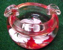 Paper Weight Ash Glass - Tobacciana