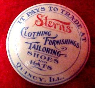 Pocket Mirror Clothing Tailoring Furnishigs- Advertising