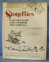 old STONEFLIES by Carl Richards Fly Fishing Book - 1st Edition Sporting