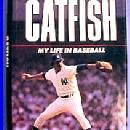 vintage Book - CATFISH - MY LIFE IN BASEBALL - sporting paper