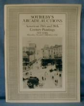 old vintage Sothebys auction ART Catalog - AMERICAN Painting Catalog - 19th & 20th CENTURY PAINTINGS  - 1988 Auction Catalog with Prices - paper