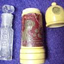 Bottle DRALLE Perfume Embossed   - Glass