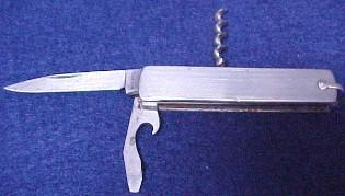 Corkscrew Jack Knife - MKW/Metalware