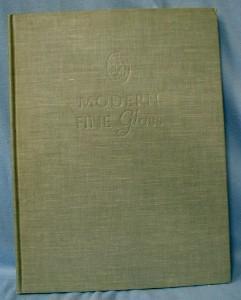 MODERN GLASS  Book - 1946 HB Book
