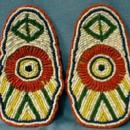 American Indian Moccasins Tops - Hand Crafted Bead