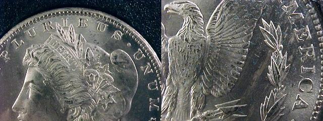 1885 CC Silver Dollar - Unc. - mbb