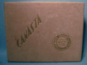 old vintage CANASTA  Cards - Travel-eez Your Dealer in Dreams Advertising Cards