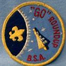 Boy Scouts America Patch GO Roundup - 1960 collectible