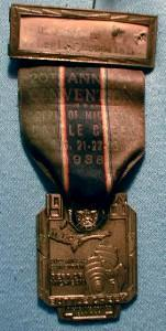 US  American Legion Medal Badge - 1938 Michigan Annual Convention - Misc