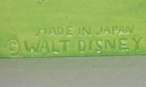 Walt Disney THREE LITTLE PIGS Porcelain Toothbrush Holder