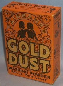 Lever Brothers Box of GOLD DUST Washing Powder - Ethnographic