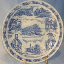 Vernon Kilns HISTORIC SAINT AUGUSTINE Commemorative Pottery Plate