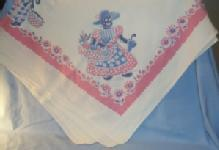 MAMMY Design Square Cotton Table Cloth - Ethnographic