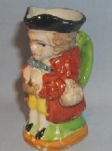 Occupied Japan STANDING MAN Porcelain Toby Mug