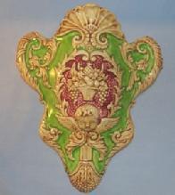 WINGED CHERUB Porcelain Wall Pocket