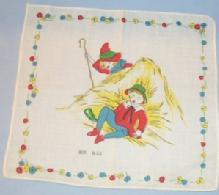 Colorful BOY BLUE Linen Hanky - Toys