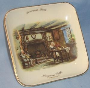 NIAGARA FALLS, CANADA Souvenir Porcelain Pin Dish