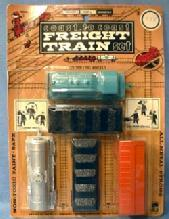 vintage Midgetoy Toy  FREIGHT TRAIN - Mint in Box Toy