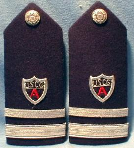 Military Dress  US Coast Guard Shoulder Boards - Military
