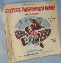 Ethnographic GEORGE WASHINGTON RABBIT Record Soty Game