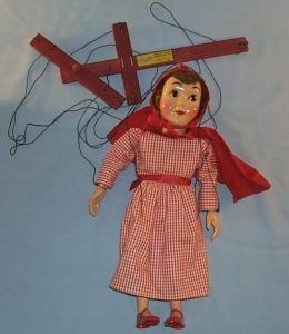 LITTLE RED RIDING HOOD Hazelle's Popular Marionette In Original Box - toys