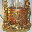 Chalkware WISHING WELL Desk Lamp - Misc.
