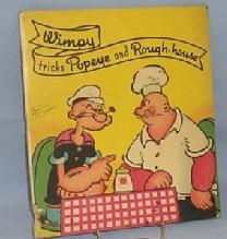 Colorful WIMPY TRICKS POPEYE AND ROUGH-HOUSE Book - Paper