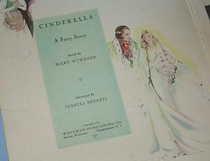 CINDERELLA Story Book - Paper
