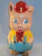 IDEAL Toy Plastic Pig Bank