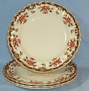 Four MORTLOCK'S OXFORD STREET Porcelain Plates