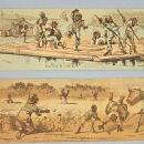 Two Black Americana Advertising Cards - Ethnographic