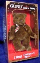 GUND 1995 Limited Edition Bear in Box - Toys