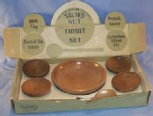 Cherrywood SALTED NUT TIDBIT SET in Original Box - Misc.