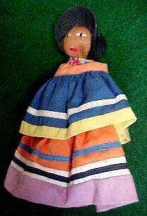 Native Seminole Indian Doll - Toys