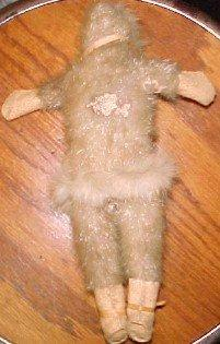 Eskimo Doll Ivory Leather - Toys
