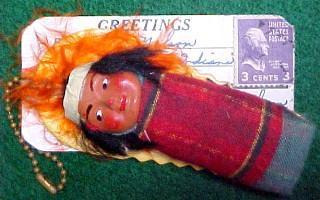 Skookum  Papoose Postcard Mailer - Ethnography