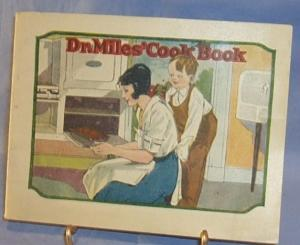 DR. MILES'  COOK BOOK  Advertising Health and Cook Book Miscellaneous