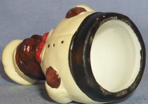 Porcelain Hand Painted Black Chef Thimble