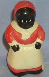 Porcelain Mammy Shaker Ethnographic
