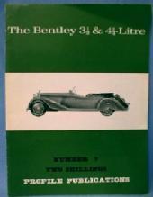 BENTLEY  Automobile Book - Vehicle Paper