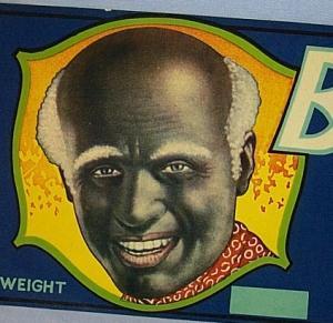 Three B lack Memorabilia BLACK JOE California Juice Grapes Paper Packing Crate Labels - Advertising