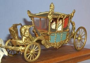 Britains STATE COACH OF ENGLAND Drawn by 8 Horses - Toys