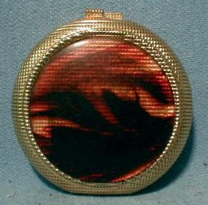 Revlon COMPACT Tortoise Shell - Jewelry Accessory