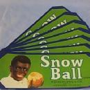Eight Black Memorabilia SNOWBALL Florida Oranges Paper Packing Crate Labels - Advertising