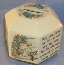 Wedgwood PETER RABBIT Porcelain Bank