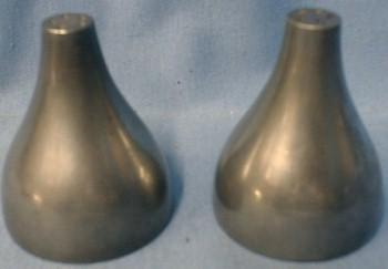 Pewter Salt & Pepper Shakers - Reed & Barton Metalware
