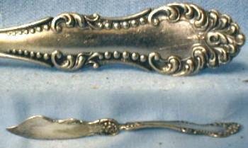 vintage Silverplate CARLTON Butter Knife - Rogers Silver Plate